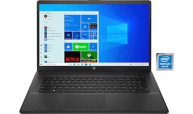 "HP Notebook »17-cn0212ng«, (43,9 cm/17,3 "" Intel Pentium Silber UHD Graphics 605\r\n... kaufen"