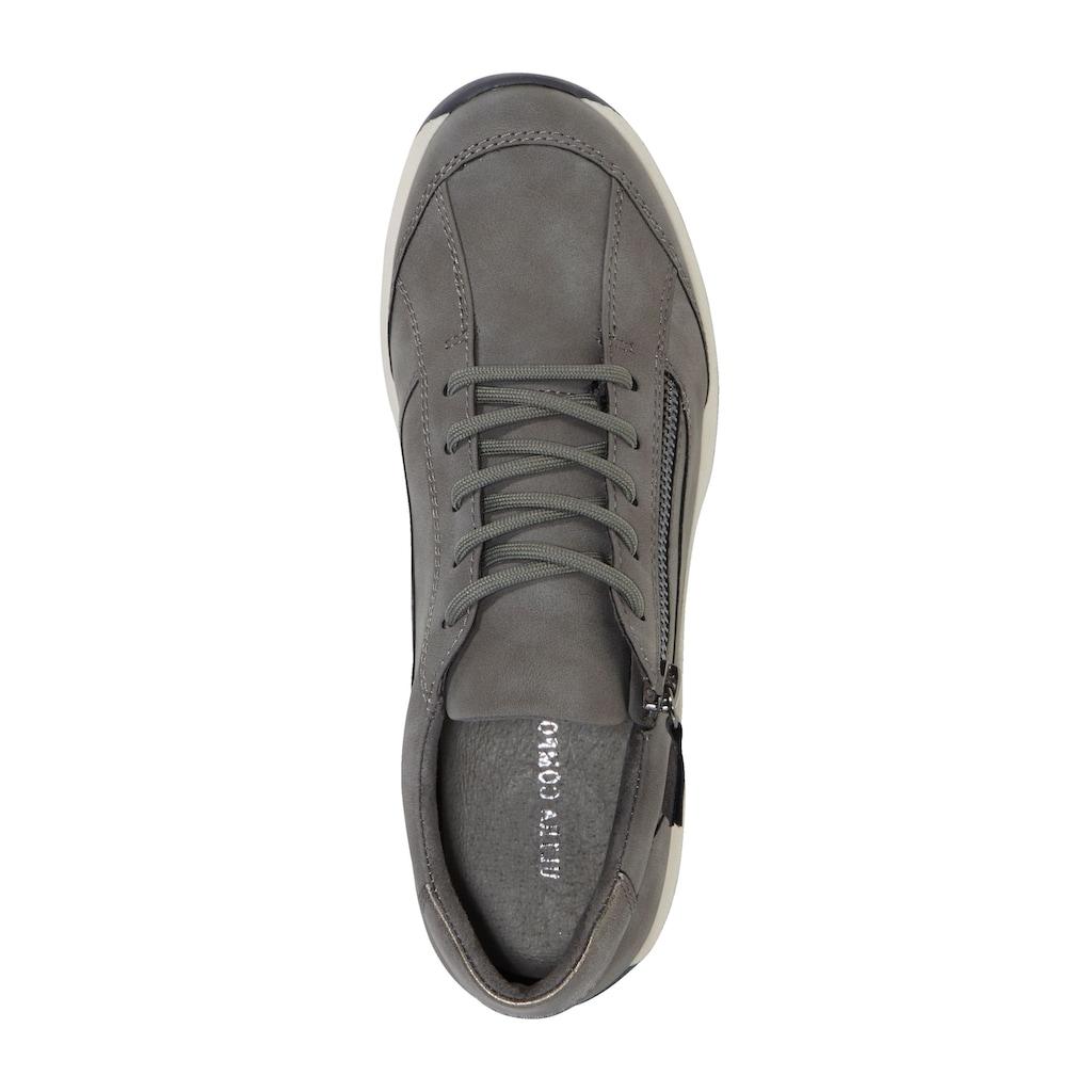 Liva Loop Sneaker, mit seitlichem Ristreißverschluss