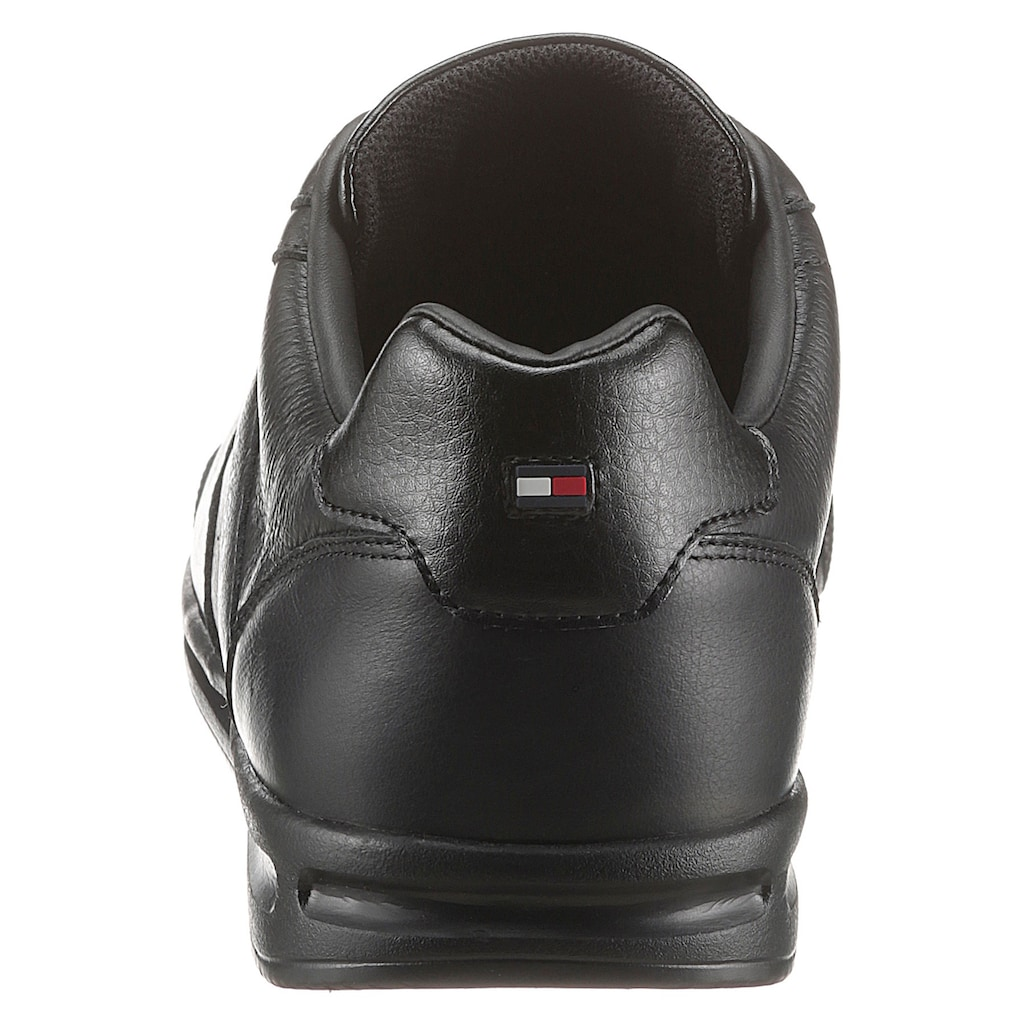 TOMMY HILFIGER Sneaker »LIGHTWEIGHT LEATHER MIX SNEAKER«, mit seitlichen Streifen