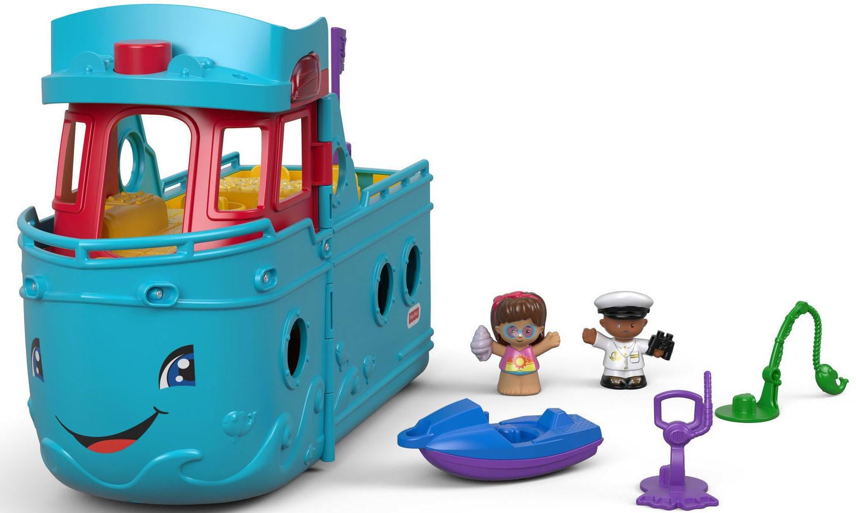 Fisher Price 2-in-1 Spielschiff Little People Schiff Kindermode/Spielzeug/Autos, Eisenbahn & Modellbau/Spielzeugautos/Weitere Spielzeugautos