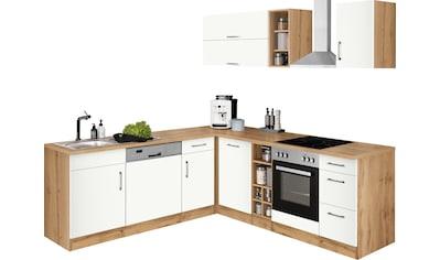 HELD MÖBEL Winkelküche »Colmar«, mit E-Geräten, Stellbreite 210/240 cm kaufen