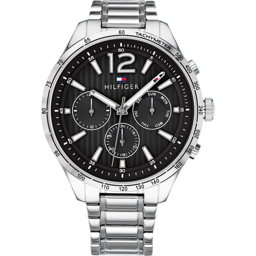 TOMMY HILFIGER Multifunktionsuhr »CASUAL SPORT, 1791469«