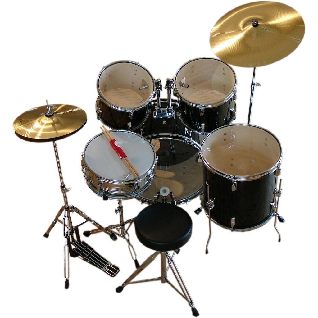 Clifton Schlagzeug »Black Beat«