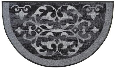 Teppich, »Round Ornaments«, wash+dry by Kleen - Tex, rechteckig, Höhe 7 mm, gedruckt kaufen
