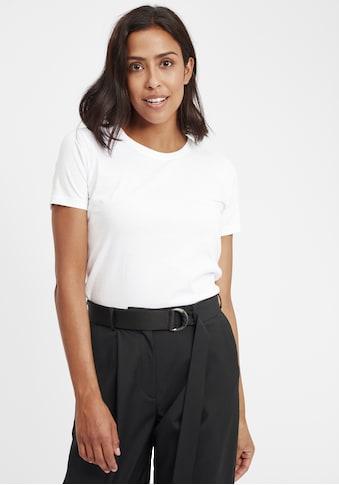 OXMO T-Shirt »Otta«, Basic-T-Shirts im 2er Pack kaufen