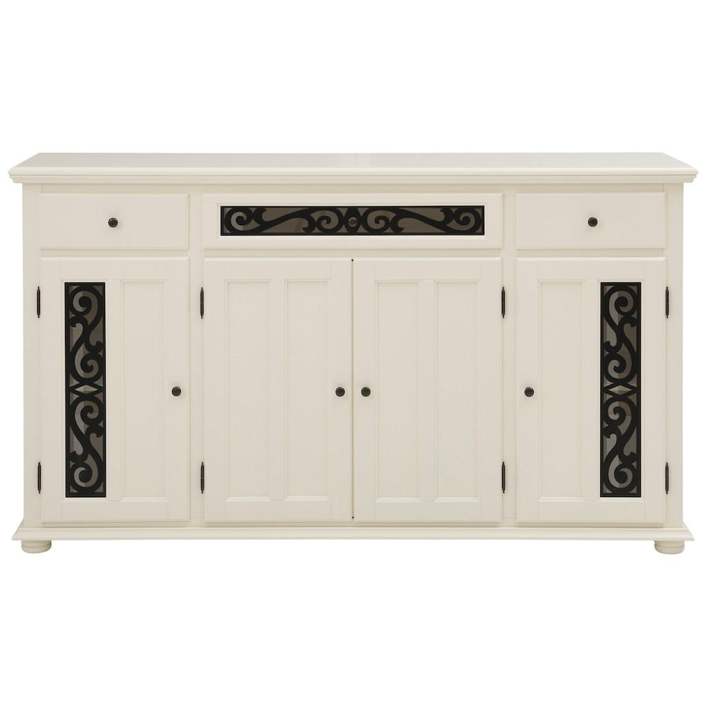 Home affaire Sideboard »Arabesk«, mit schönen dekorativen Fräsungen, viele Stauraummöglichkeiten, Breite 171 cm