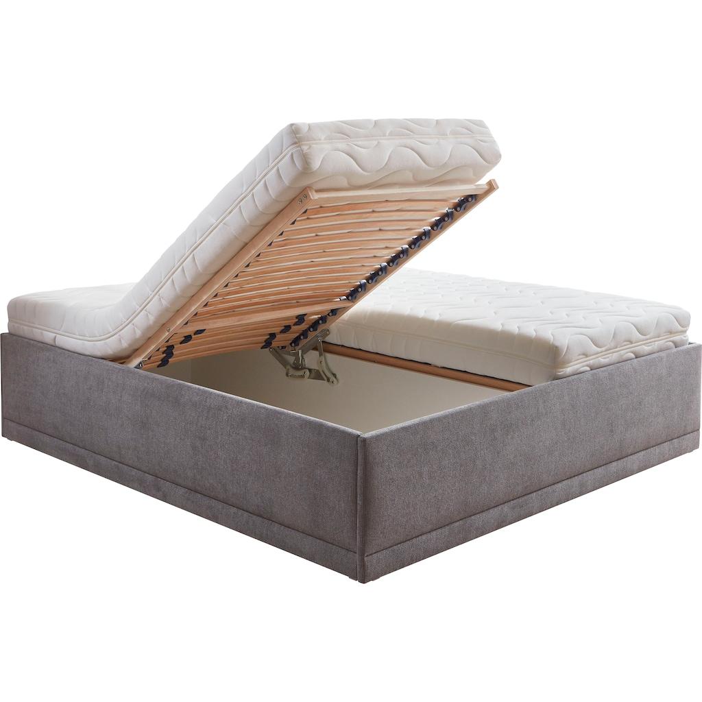 Westfalia Schlafkomfort Polsterbett »Texel«, mit Zierkissen, Komforthöhe