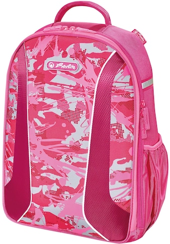 Herlitz Schulrucksack »airgo, Camouflage Pink« kaufen