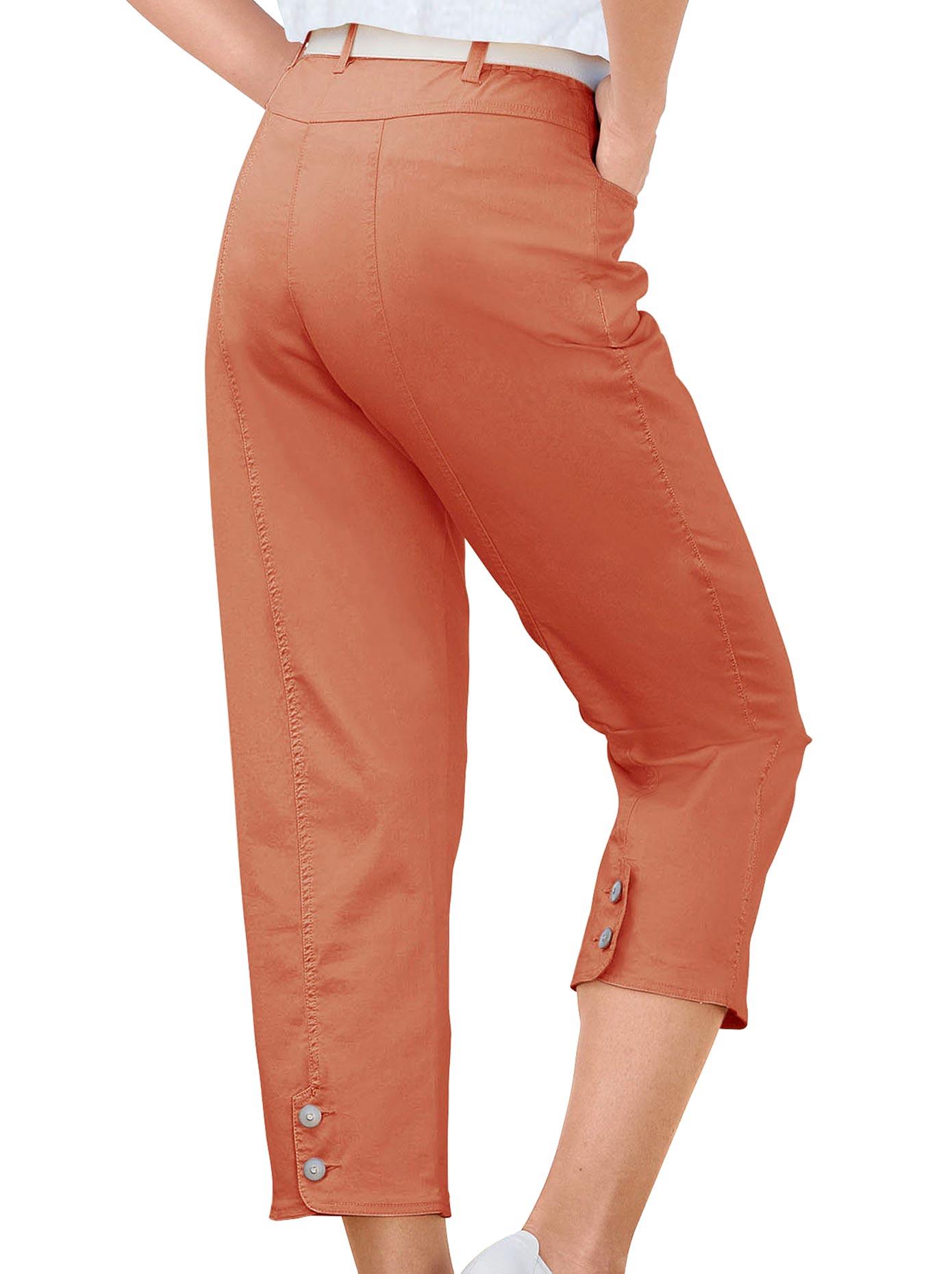 Casual Looks 7/8 Hose mit Schmuckknöpfen   Bekleidung > Hosen > 7/8-Hosen   Orange   Casual Looks