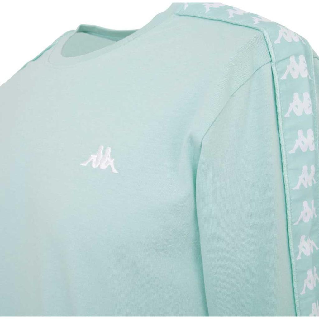 Kappa T-Shirt »AUTHENTIC GRENNER«, mit hochwertigem Jacquard Logoband an den &Auml;rmeln <br />