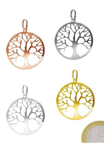 Adelia´s Kettenanhänger »Damen Schmuck Anhänger 925 Silber Baum des Lebens« kaufen