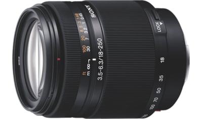 Sony Objektiv »18250 A - Objektiv für Digitalkameras« kaufen