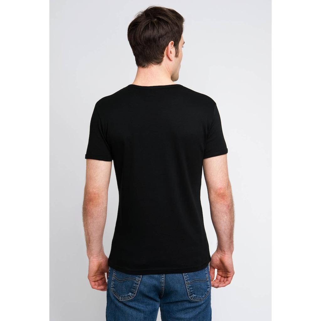LOGOSHIRT T-Shirt mit Panzerknacker-Frontprint