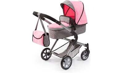 Bayer Kombi-Puppenwagen »City Neo, Grau/Rosa« kaufen