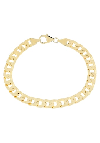 Firetti Armband »in Panzerkettengliederung, 7,0 mm, glänzend, vergoldet, 6 - fach diamantiert« kaufen