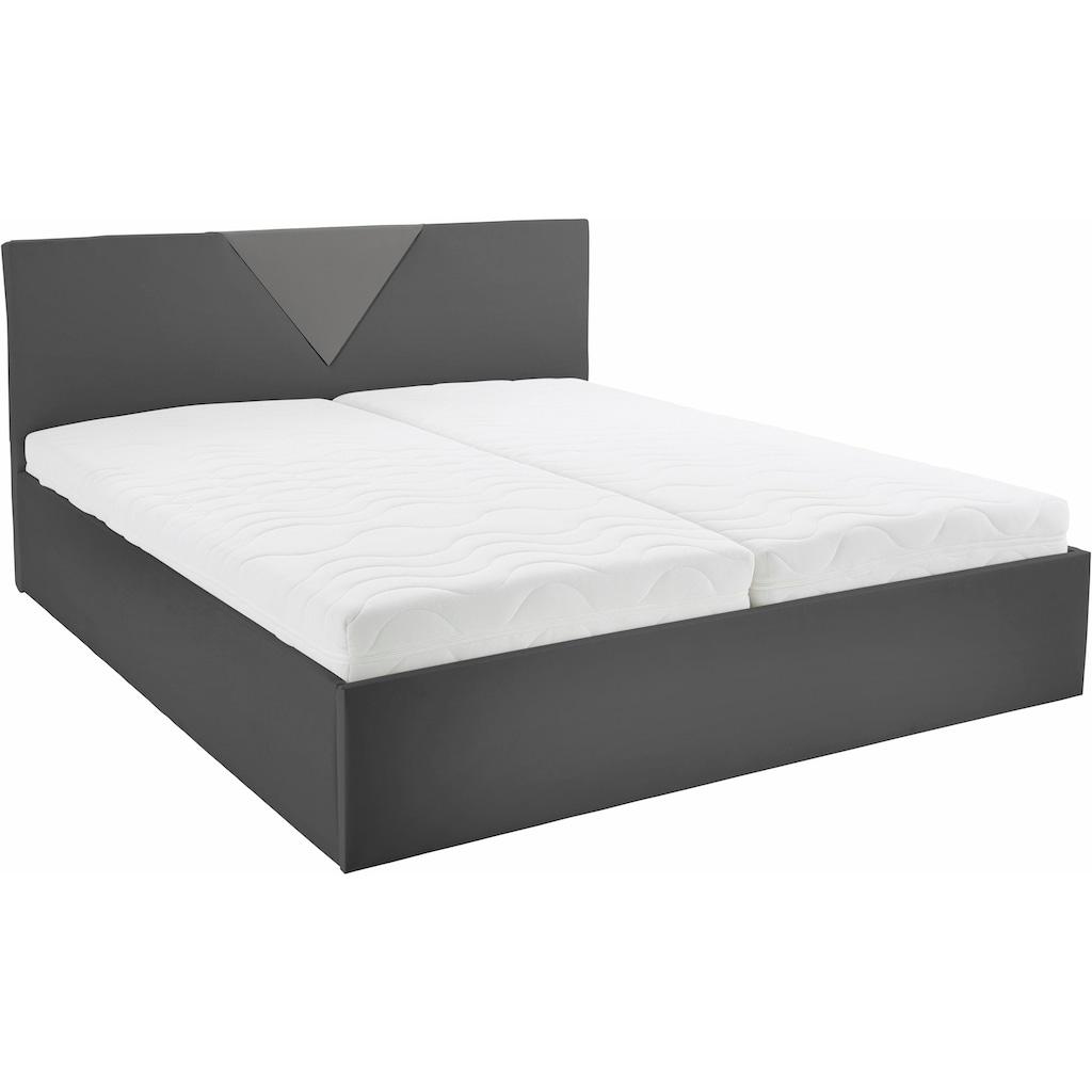 Westfalia Schlafkomfort Polsterbett »Malibu«, inkl. Bettkasten bei Ausführung mit Matratze
