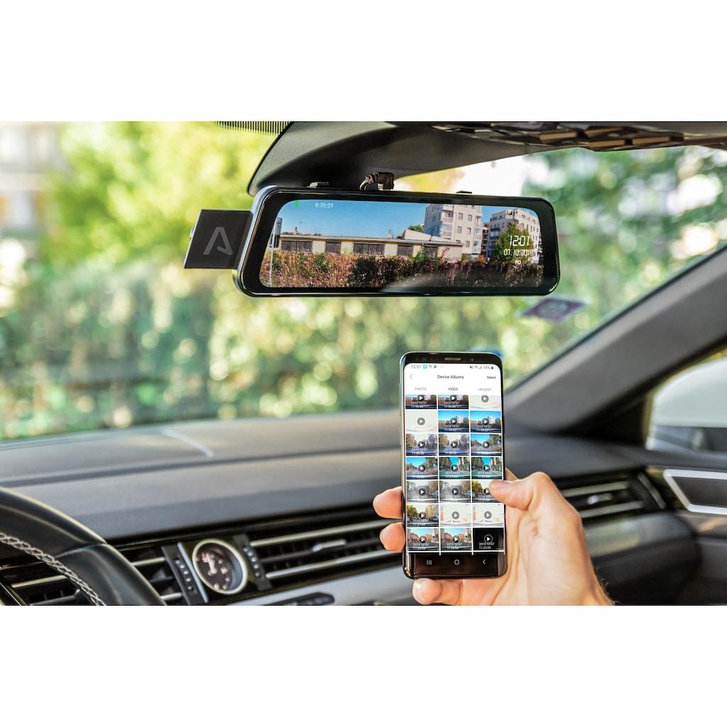 LAMAX Dashcam »S9 Dual Full HD Spiegel«, mit praktischer Rückkamera