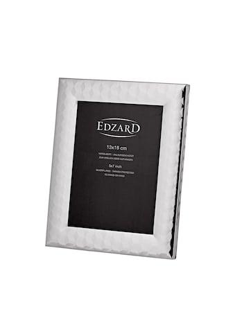 EDZARD Bilderrahmen »Fotorahmen Faenza für Foto 13 x 18 cm, edel versil«, 13x18 cm kaufen