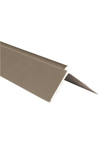 SLATE LITE Alu - Profil »Außeneckprofil F - Line«, Stahloptik kaufen