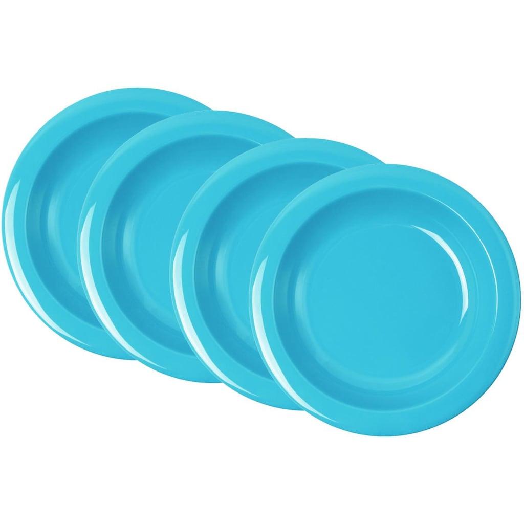 WACA Suppenteller, (Set, 4 St.), Ø 21,6 cm, Kunststoff