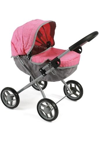 """CHIC2000 Puppenwagen """"Lilli, melange pink"""" kaufen"""