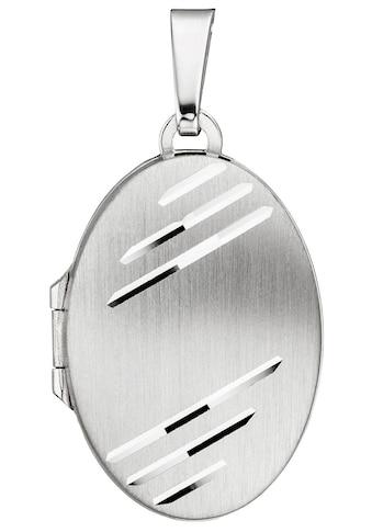 JOBO Medallionanhänger »Medaillon«, oval 925 Silber kaufen