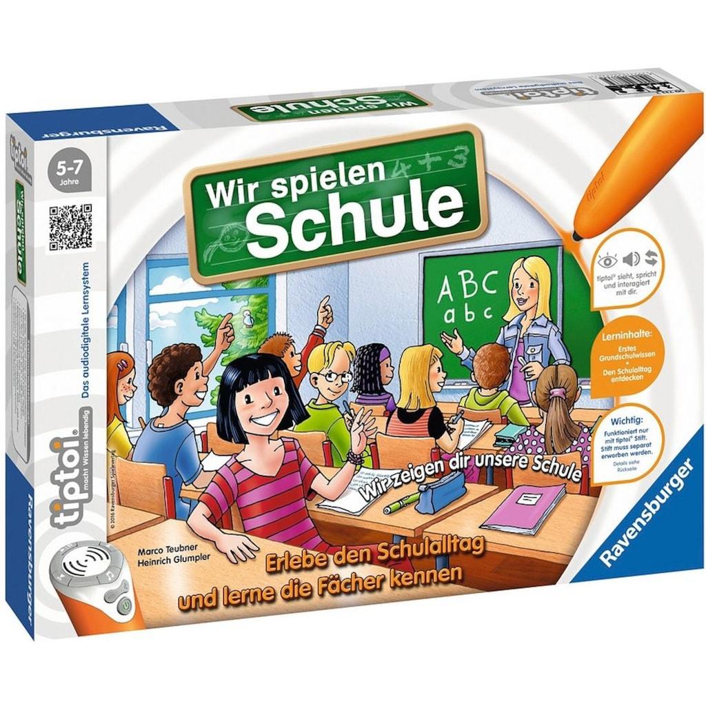 Ravensburger Spiel »tiptoi® - Wir spielen Schule«, Made in Europe, FSC® - schützt Wald - weltweit