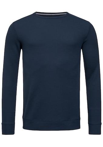 SUPER.NATURAL Sweatshirt »M JASPER CREW NECK«, feinster Merino-Materialmix kaufen