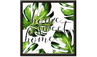 Artland Wandbild »Trautes Heim, Glück allein« kaufen