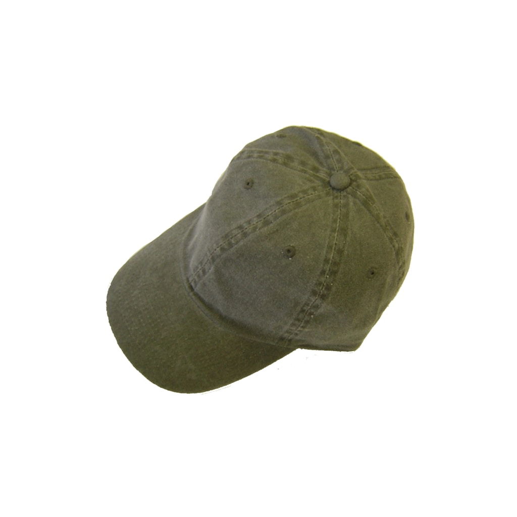 Chaplino Baseball Cap, im Used-Look