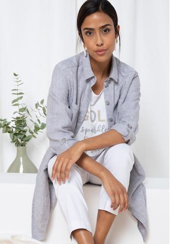 bianca Hemdbluse »ENETT«, aus 100% Leinen im Hemdblusen-Style kaufen