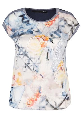 LeComte Shirt mit Print und Glitzereffekt kaufen