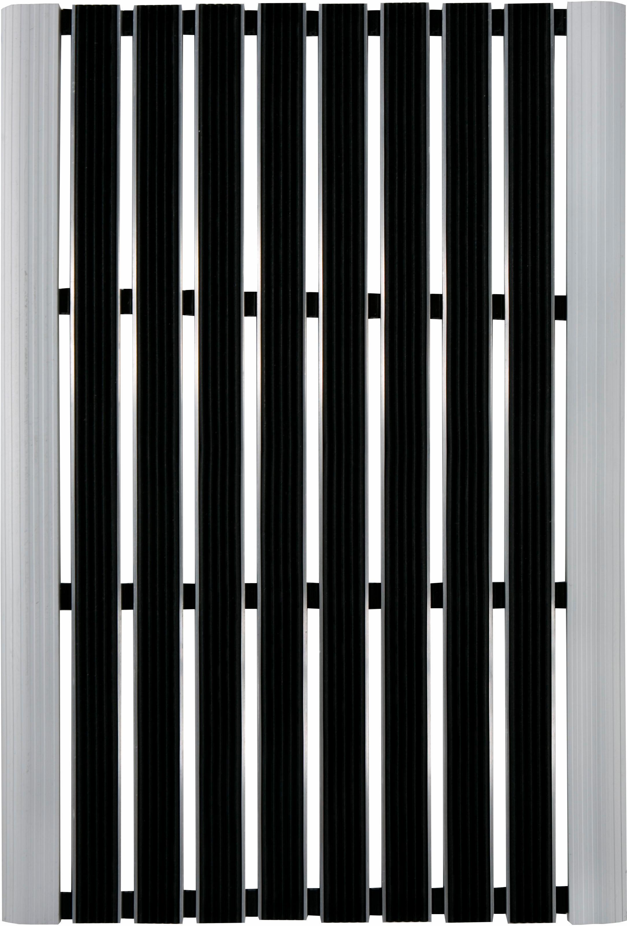 Fußmatte Exclusive Andiamo rechteckig Höhe 10 mm maschinell zusammengesetzt