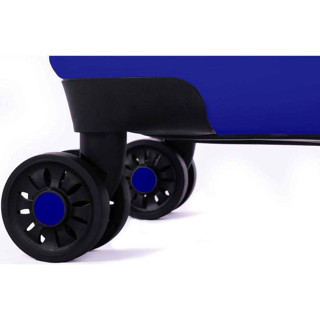 meinTrolley Hartschalen-Trolley »Liebe Mund, 55cm«, 4 Rollen, Made in Germany