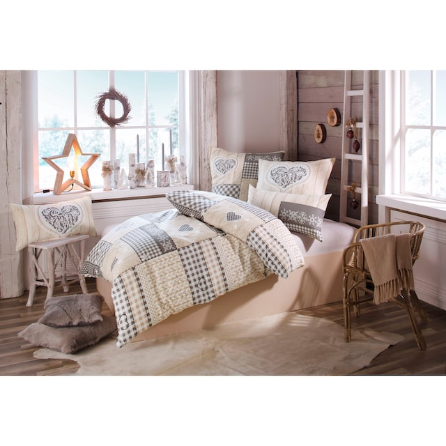 Bettwäsche »Janina«, Home affaire Collection