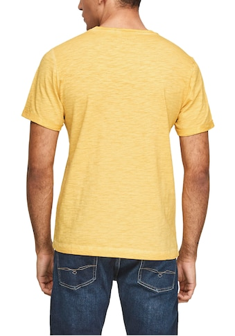 s.Oliver T-Shirt, mit einer Knopfleiste kaufen
