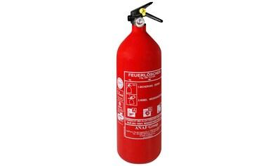 ANAF Pulver - Feuerlöscher 2 kg, DIN EN 3, für Brandklasse A, B, C kaufen