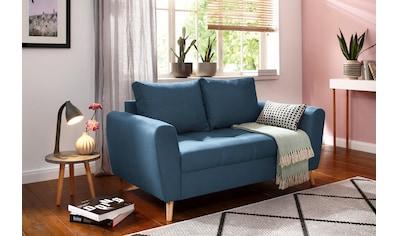 Home affaire 2-Sitzer »Penelope«, mit feiner Steppung im skandinavischem Design kaufen