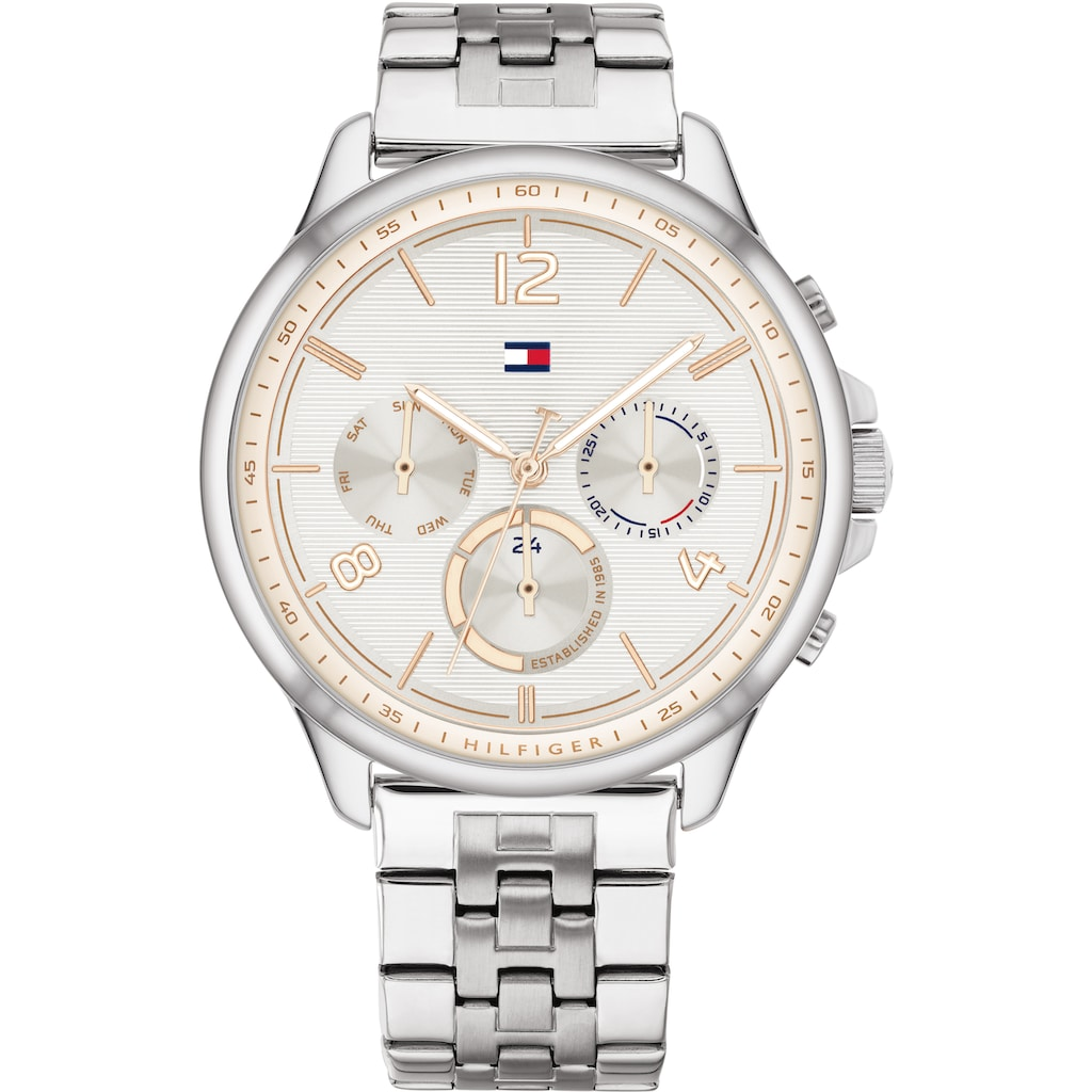 TOMMY HILFIGER Multifunktionsuhr »Casual, 1782222«
