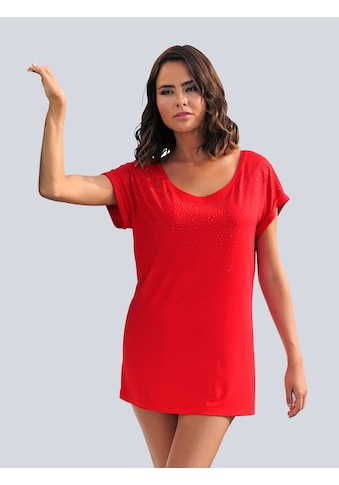Alba Moda Strandshirt, mit Glitzersteinen kaufen