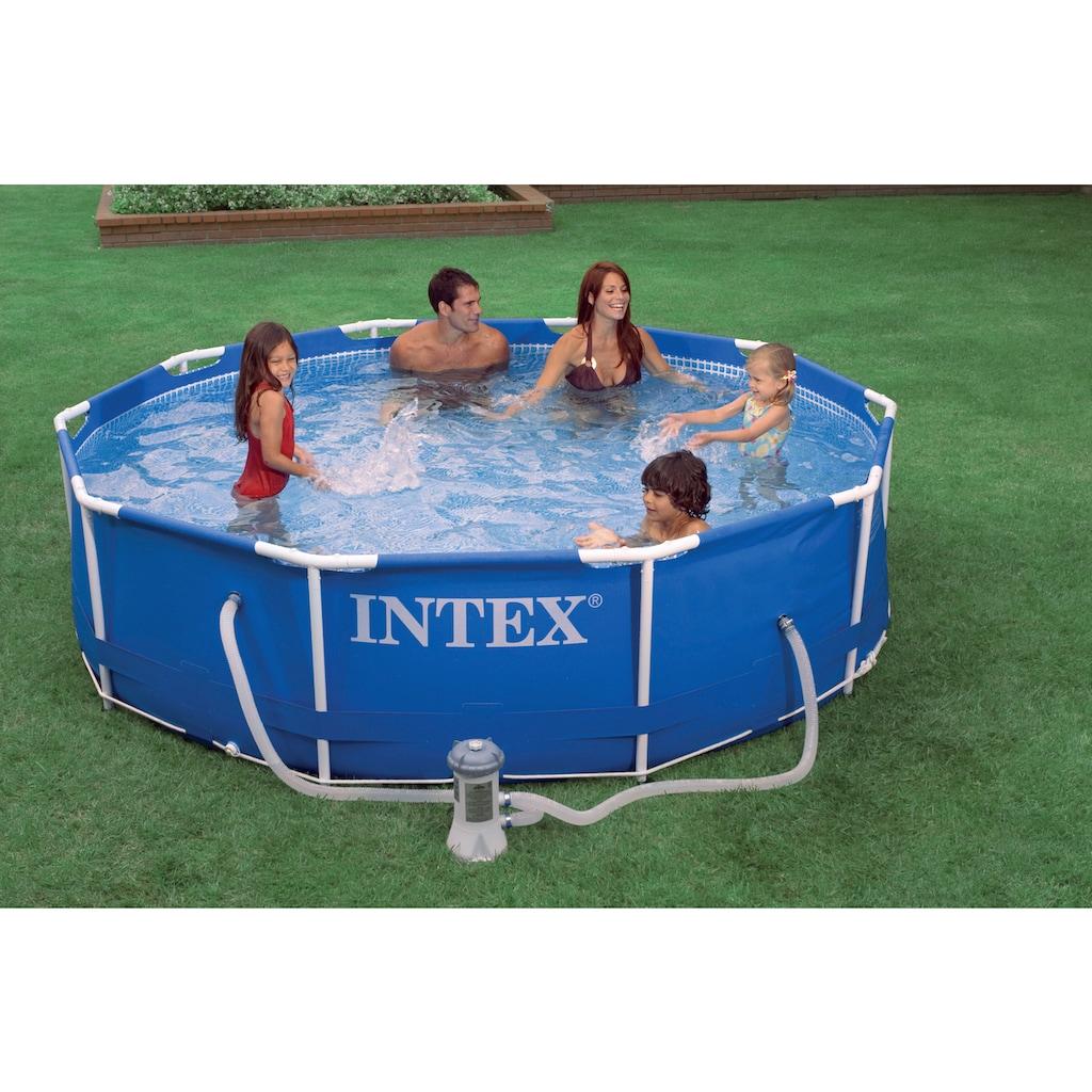 Intex Rundpool »Metal Frame«, ØxH: 366x76 cm