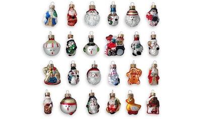 Krebs Glas Lauscha Christbaumschmuck »Minifiguren«, (Set, 24 tlg.), handdekoriert kaufen