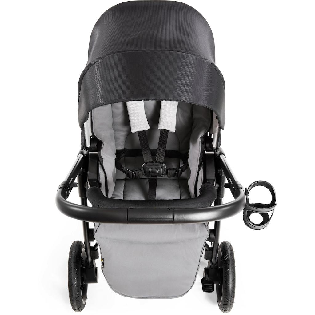Hauck Sportbuggy »Set Saturn R, caviar stone«, inkl. Babywanne und Beindecke; Kinderwagen, Buggy, Sportwagen, Kinder-Buggy, Kinderbuggy, Sport-Kinderwagen