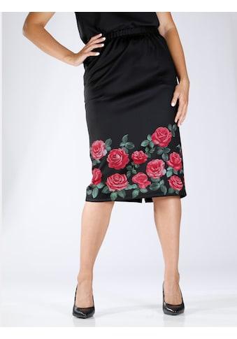 m. collection Schlupfrock, mit eleganter Blumenbordüre kaufen