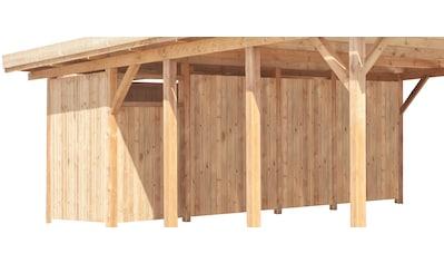 Kiehn - Holz Geräteraum, nur für Carport KH 103/105 kaufen