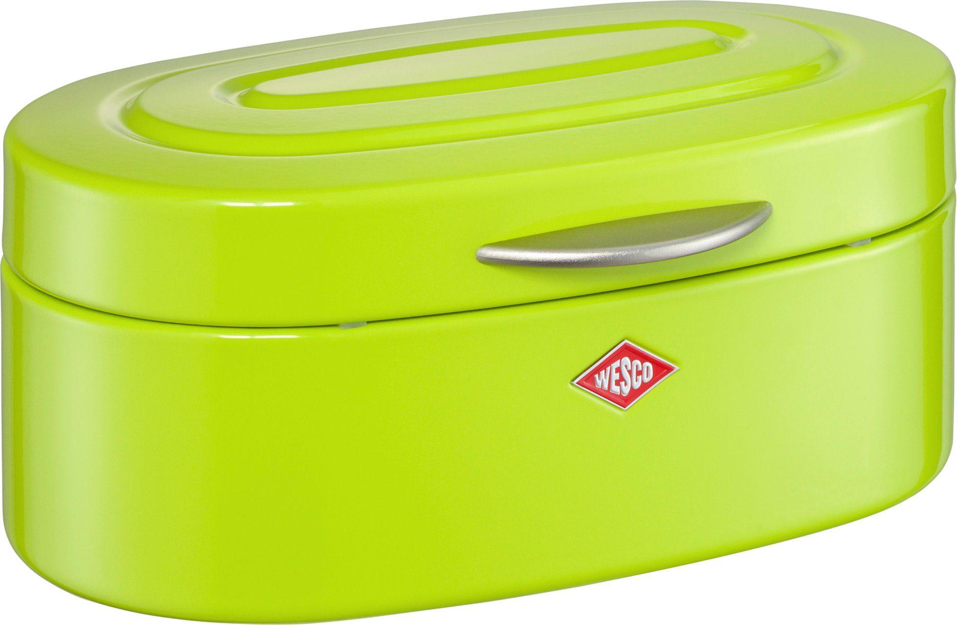 Wesco Brotkasten BREADBOX ELLY   Küche und Esszimmer > Aufbewahrung > Brotkasten   Grün   Wesco