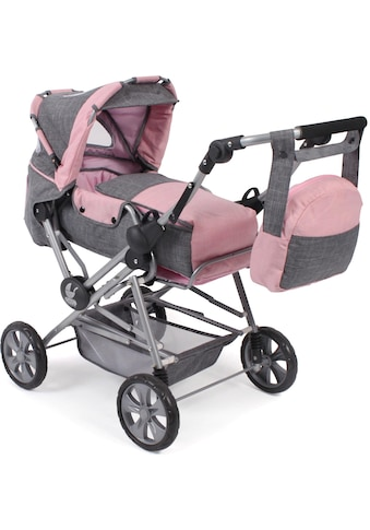 """CHIC2000 Kombi - Puppenwagen """"Road Star, grau - rosa"""" kaufen"""