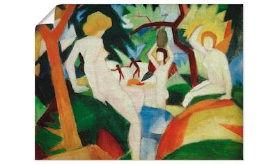 Artland Wandbild »Badende Frauen« kaufen