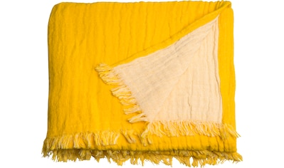 Plaid »Fringed Cotton«, TOM TAILOR kaufen