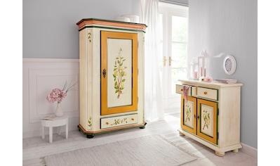 Home affaire Kommode »Zitrone«, mit schönem handgemalten Zitronengemälden auf den Türfronten, Breite 85 cm kaufen